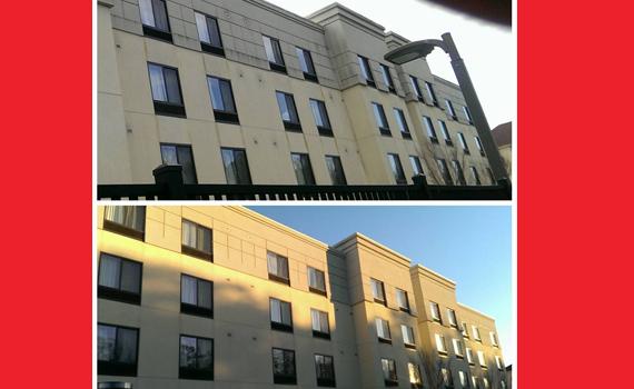 Hwy 280 Hotel Building Wash